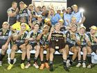 NEW CLUB RECORD: Ballina celebrates its third straight NRRRL grand final win.