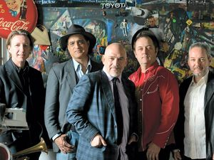 Camilleri leads The Black Sorrows to the Tav