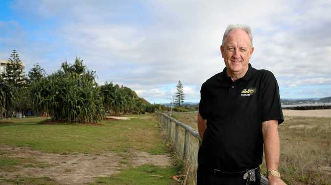 ROCK ON: Phil Villiers, event manager of Cooly Rocks On.
