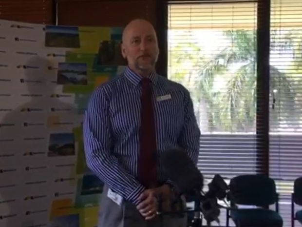 Sacked Mackay Regional Council chief executive officer Brett Heyward.