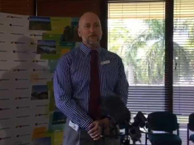 Mackay Regional Council CEO Brett Heyward