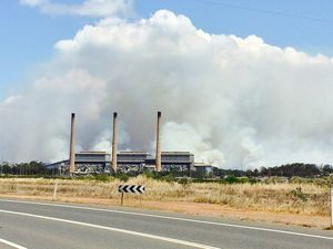 Smoke over Gladstone as more fires burn nearby