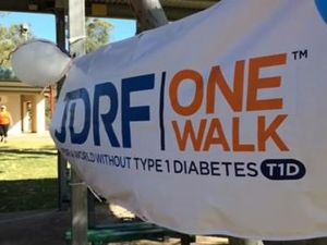 VIDEO: Walk for type 1 diabetes