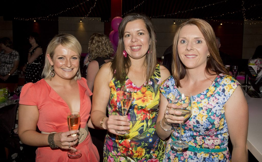 Anita Armanasco, Michelle Forbes-Masterson from AON and Rachael Davey