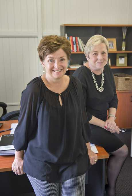 Lisa Lee and Joy Mingay, now partners in Classic Recruitment and Human Resources.