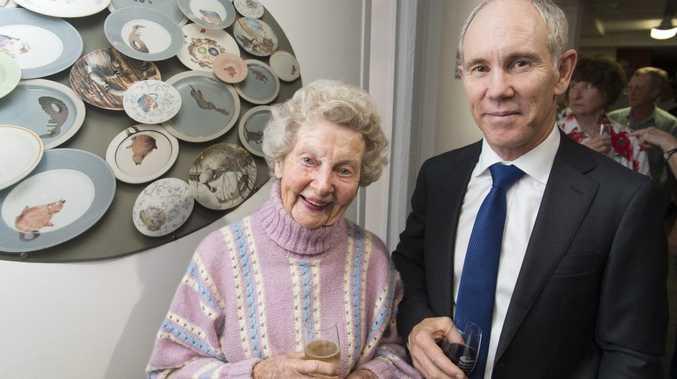 Barbara Thelander and Angus Grant