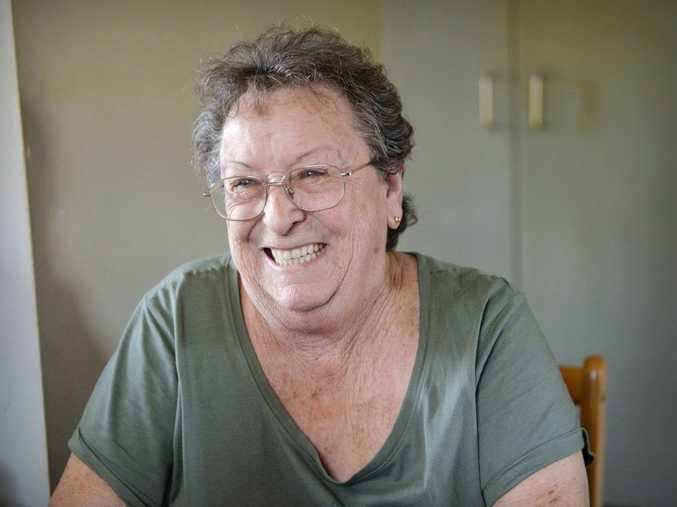 Yvonne D'Arcy from Loganlea who fought to have the BRCA1 breast cancer gene patent overturned. Photo Inga Williams / The Reporter