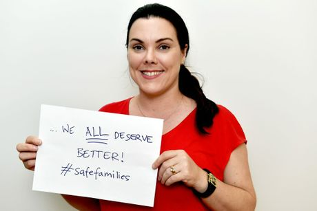 Safe Families - Fraser Coast Chronicle Editor, Clementine Norton. Photo: Valerie Horton / Fraser Coast Chronicle