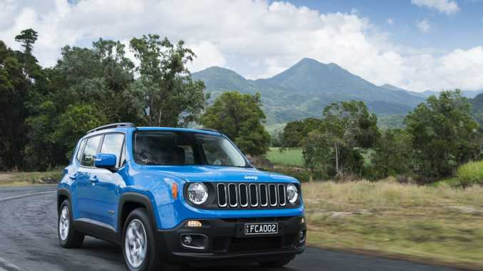 RETRO COOL: Jeep's Renegade blends SUV practicality with funky looks, and in the 4x4 Trailhawk edition, some serious off-road clout.