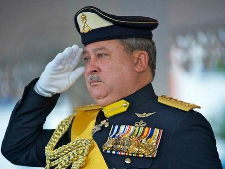 His majesty Malaysia's Sultan of Johor. Photo Contributed