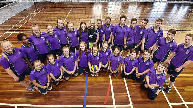 ON THE ROAD: Aldridge State High volleyball teams will travel to Brisbane today for the Volleyball Queensland Junior Schools Cup.