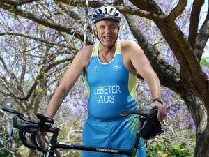 Ipswich triathlete rises above sad loss to take on world