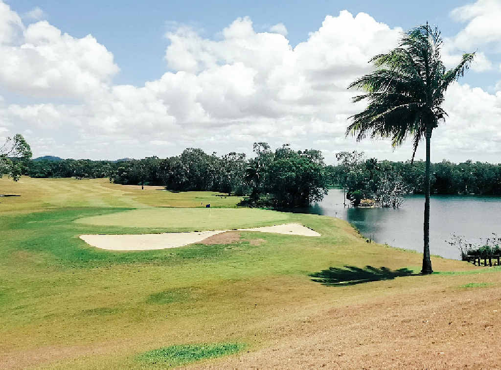 "LONG GOODBYE: The ""old"" golf course at the Capricorn Resort in Yeppoon, which will be allowed to ""return to nature"". INSET: The Araucaria Wing which will close on January 5, 2016."