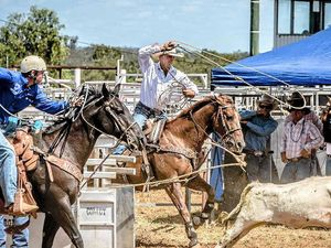 Roping at Rodeo heats up as apprentice faces master