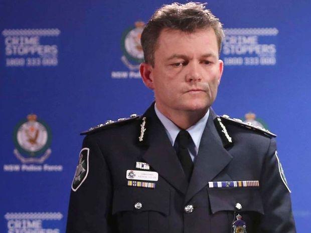 Australian Police Chief Andrew Colvin.