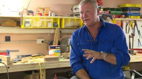 The Block host Scotty Cam in his workshop at his Vaucluse home in Sydney. Interview for the From the Heart video series. Photo Contributed