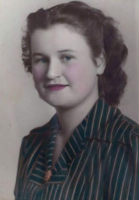 EARLY YEARS: A young Miriam Loenergan