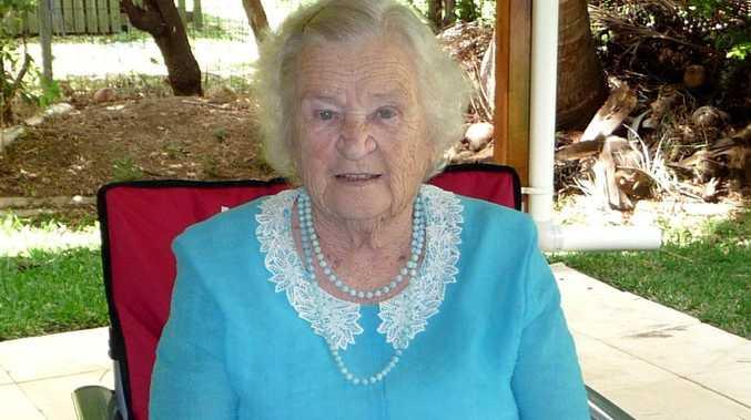 BIRTHDAY GIRL: 'Grandma' Miriam Hill attending a father's day celebration in 2009.