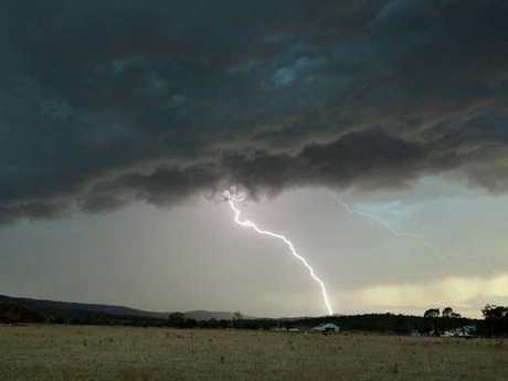 Grant Rolph phographed this lightning storm in the Minden area on October 1.
