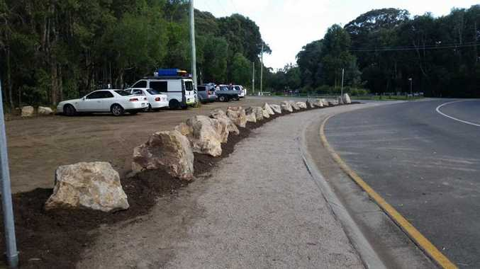 The contentious parking issue has been temporarily resolved at Mt Coolum