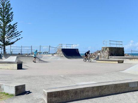 The Alex Heads skate park will get an upgrade.