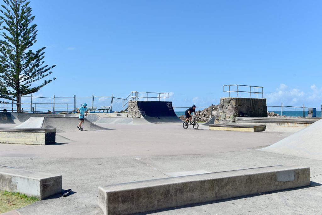 The Alex Heads skate park will get an upgrade.