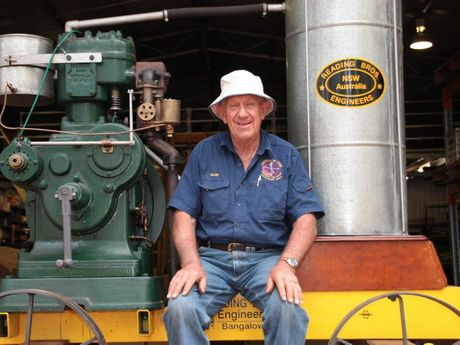 Toowoomba and District Old Machinery Society annual expo chairman Allan Boardman Photo Megan Masters / The Chronicle