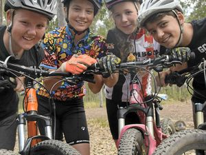 New pump track for mountain bikers at Bom Bom