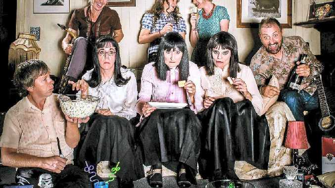 TELEVISION TUNES: Topology and The Kransky Sisters will perform musical comedy, Tunes From The Tube, on October 20 at Ipswich Civic Centre.