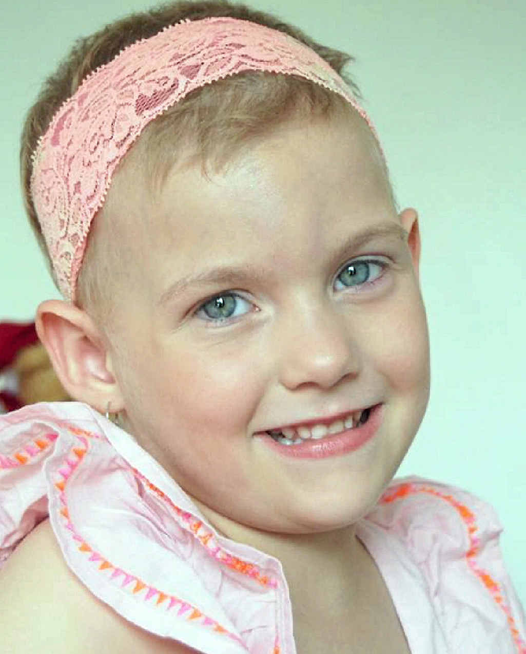 Allira's tumour reappeared in her right lung after she was declared cancer-free earlier this year.