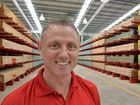 HUGE: Bunnings Warehouse Maroochydore Complex manager Kevin Harris proudly shows off his new baby ahead of Monday's opening.
