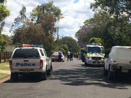 A person has been taken to hospital after being struck by a vehicle at Petrie St, Leichhardt this morning.