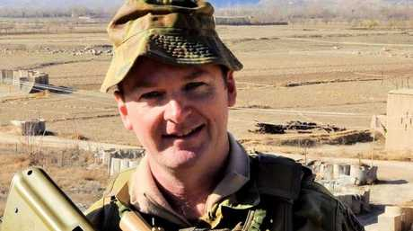 Major Stuart McCarthy. Afghanistan, 2011. Photo: Contributed