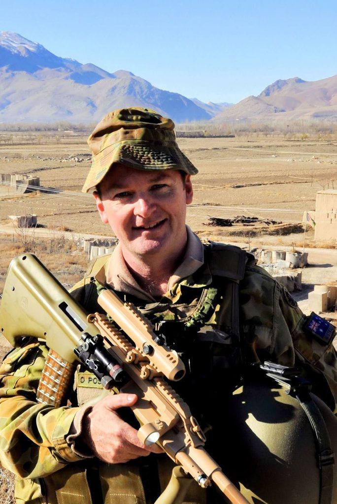 Major Stuart McCarthy. Afghanistan, 2011. Photo: Contributed