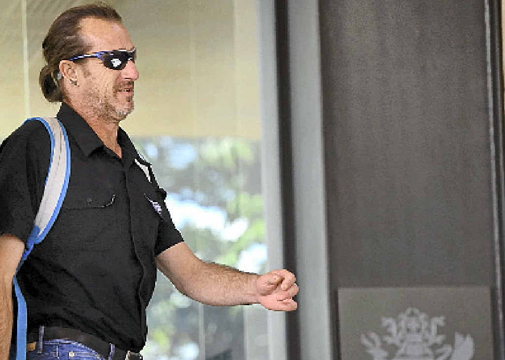 OFF TO JAIL: Glen Charles Dell was shocked when he was found guilty at the Ipswich Magistrates Court yesterday.His co-accused Mark Antony Tear was found not guilty.