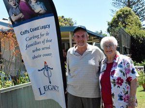 Community rallies together to help war widow