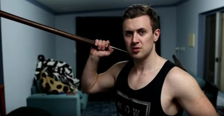 Australian YouTube personality Marcus Dibble.