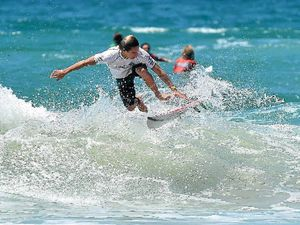 Locals among the finalists in surfing series opener