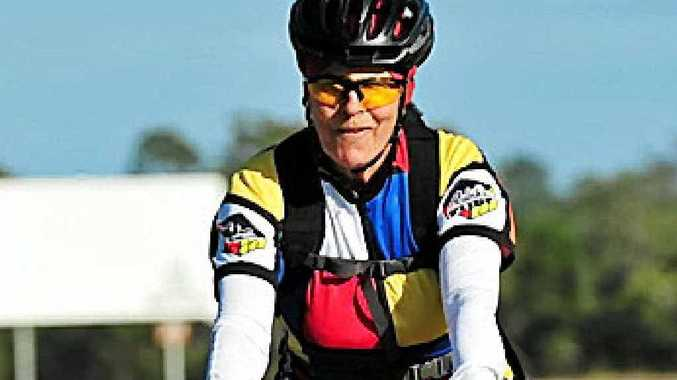 PASSION FOR THE PEDAL: Mary Garden credits cycling with saving her life.