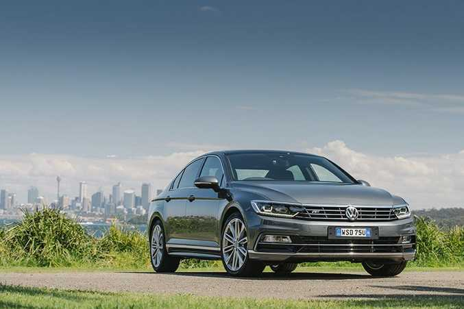 ALL NEW: Passat comes with a 1.8-litre petrol or (non scandalous) 2.0-litre diesel powerplant.