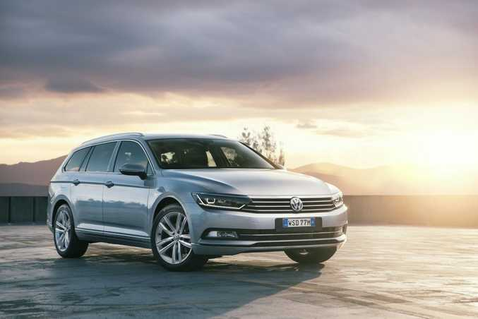 CLASS ABOUNDS: New Passat is wider, more spacious and better equipped than the outgoing model