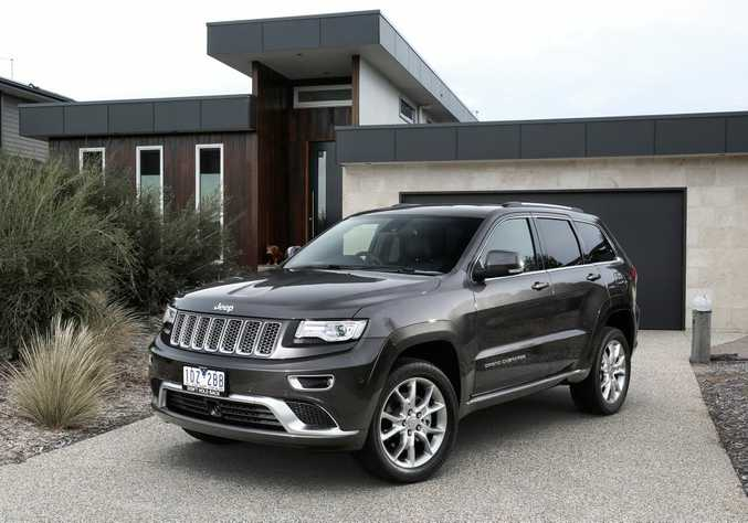 THE SUMMIT: Good looking, practical and full of kit, the Summit Platinum is an imposing limited edition Grand Cherokee.
