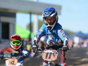 BMX race junior sport