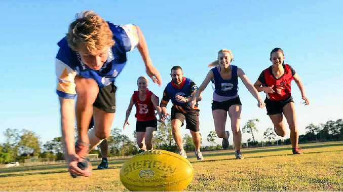 NEW SEASON: AFL Wide Bay is hosting a come and try session to drum up interest in the AFL 9s competition starting on November 4.