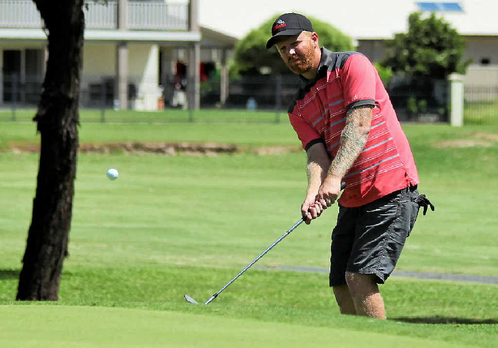 Matt Janke scored an albatross on the par-five ninth, and after splitting the fairway with his drive and playing a four iron from just under 200m right into the cup.