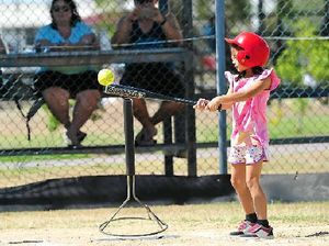 Gladstone youngsters have a ball learning T-ball basics