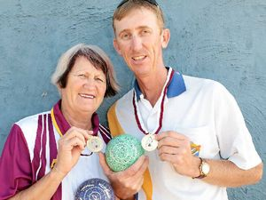 Mother and son a winning combination at bowls titles