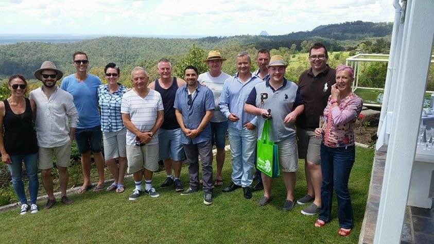In Maleny are Louise Terry, Ben Elder, Gerry Bourke, Mel Patterson-Gray, Rod Stringer, Vincent Cooper, Mario Paez, Mark Peterswald, Dean Rallison , David Collishaw, Dennis Basham, Brett Max and Kat Patterson-Gray.