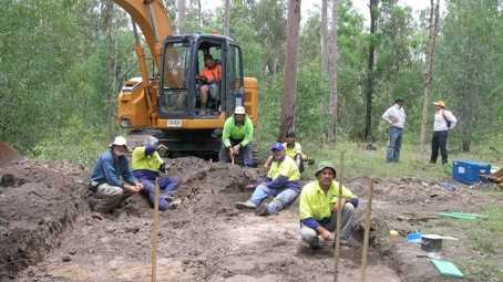 Aboriginal and Cultural Heritage consultancy group Jagera Daran has been commissioned by the Queensland Government to study the area where the crossing will pass. Photo: Jagera Daran.
