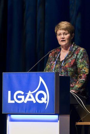 Local Government Association of Queensland president Cr Margaret de Wit.